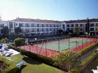 Tennis Court and new building