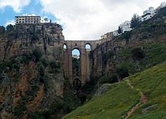 Puente Nuevo from below