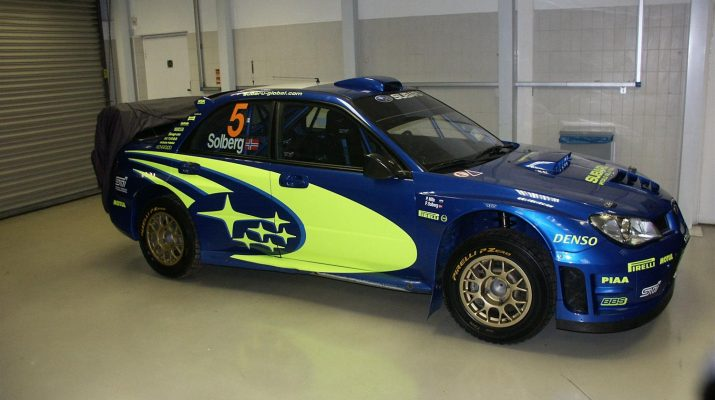 Petter Solberg's Subaru Rally Car