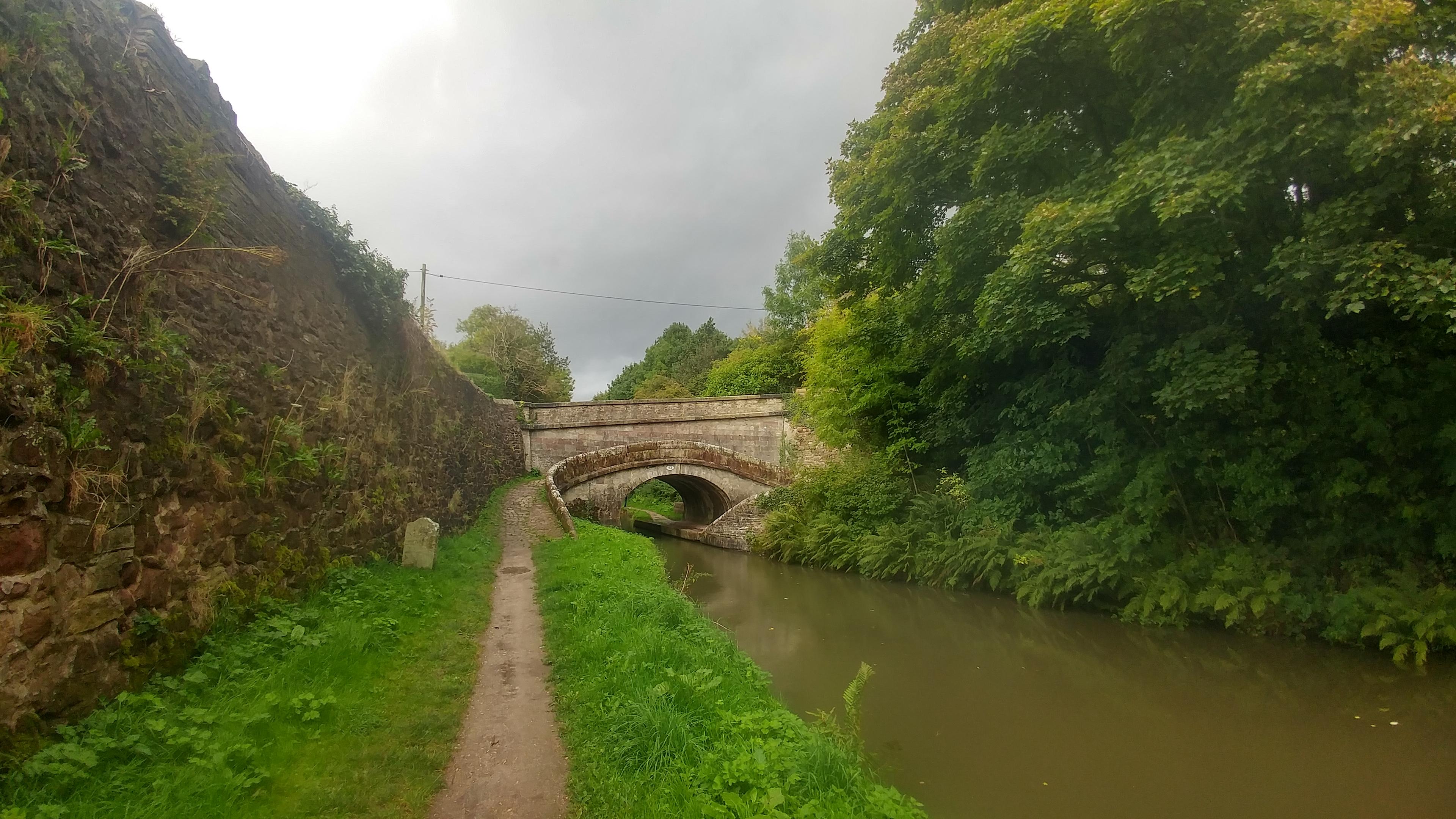 Seitch over bridge, near Sutton