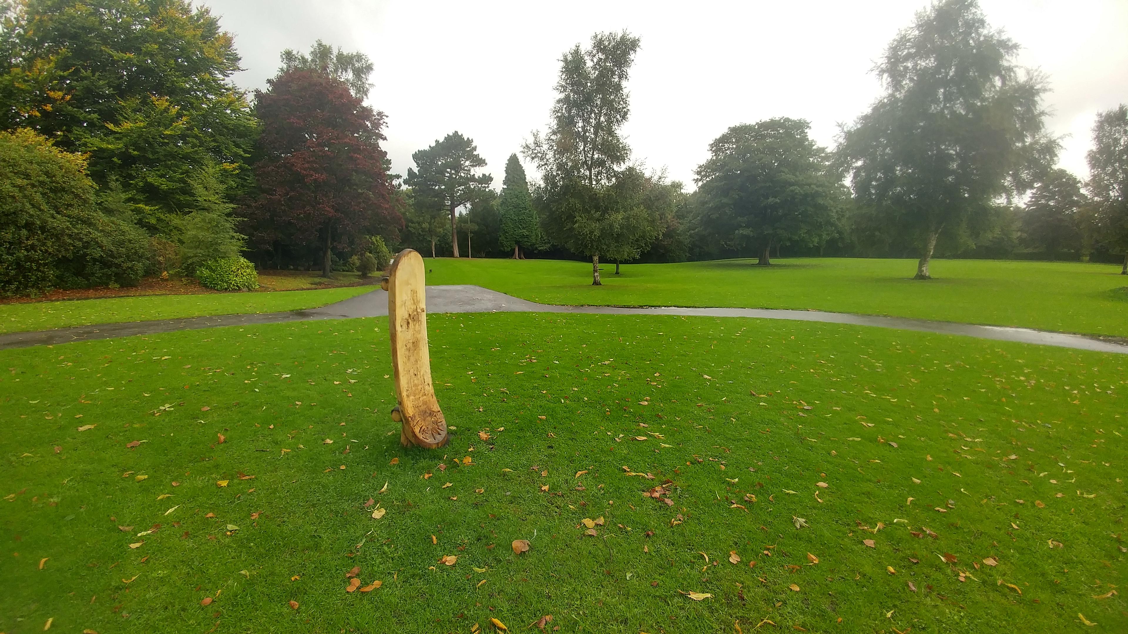 Skateboard Sculpture, West Park