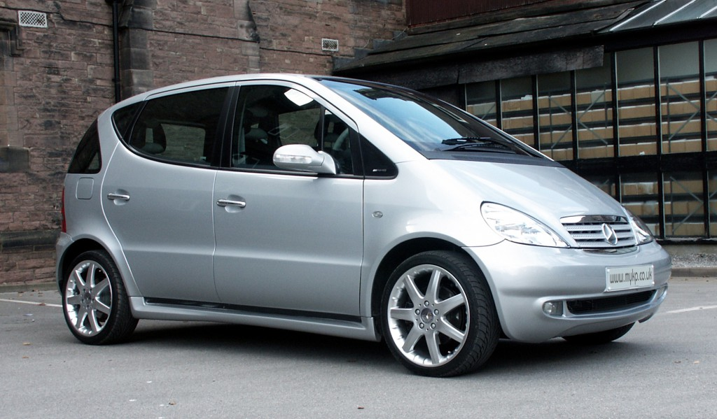 Photo of a Mercedes A-class, for reset A-Class service indicator