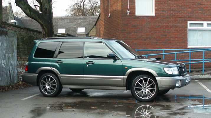modify a subaru forester wheels
