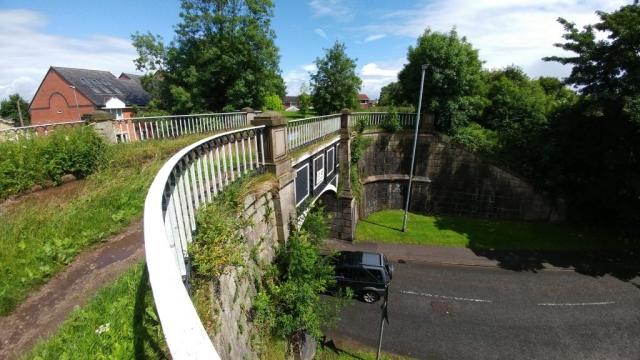 Canal Street aquaduct, Congleton