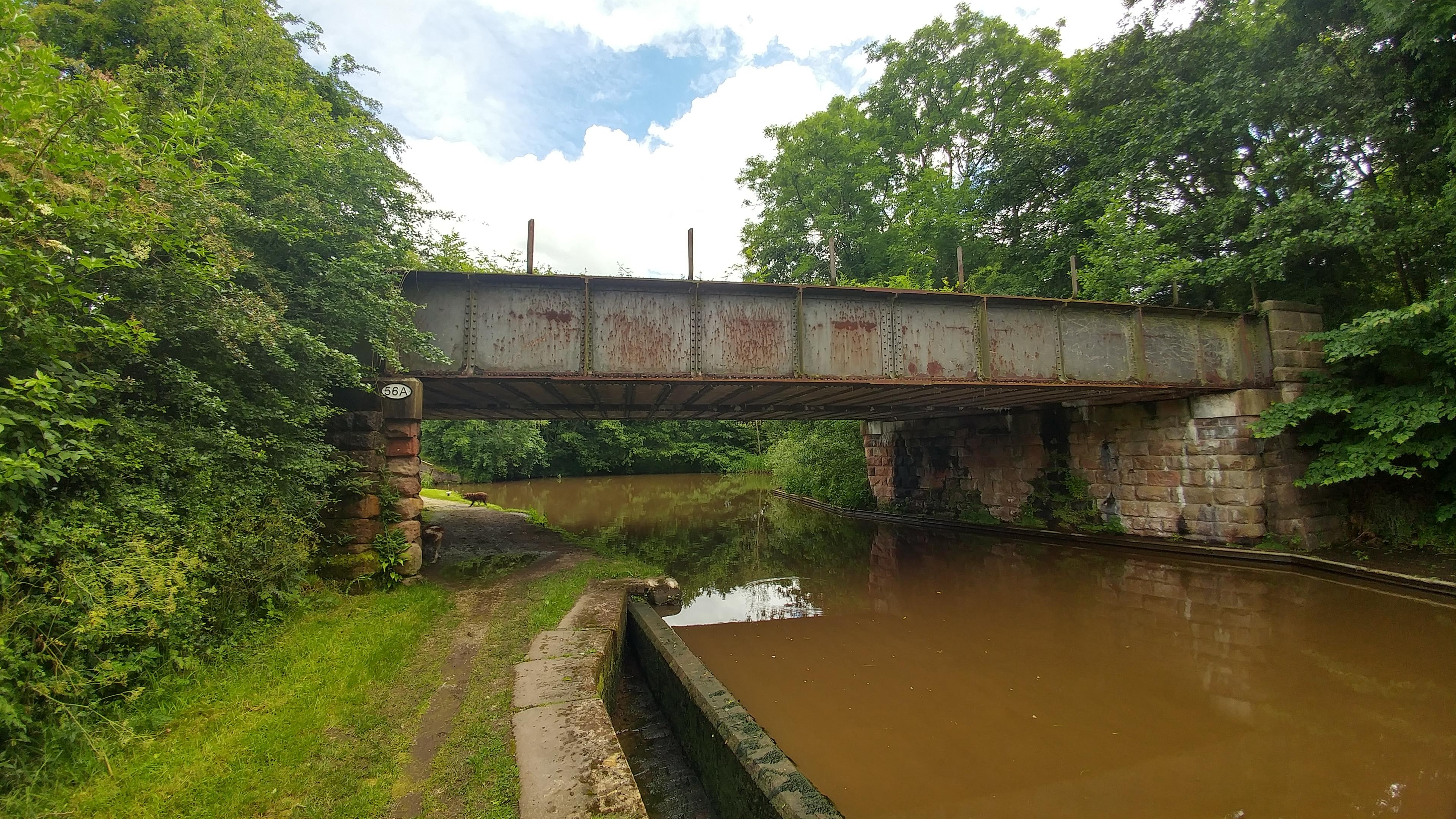 Bridge 56A northbound