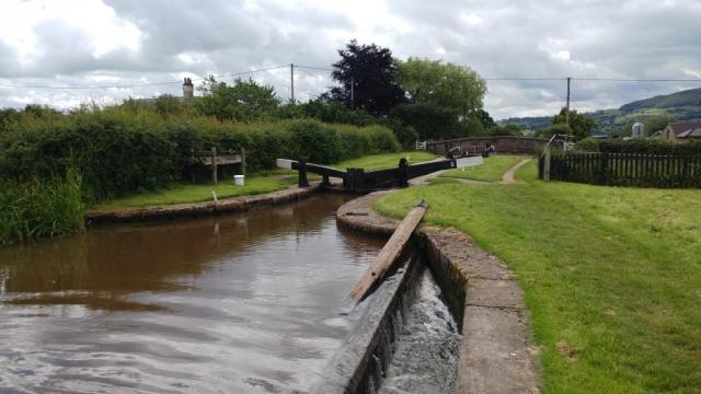 Bosley Locks, no. 5 Lock