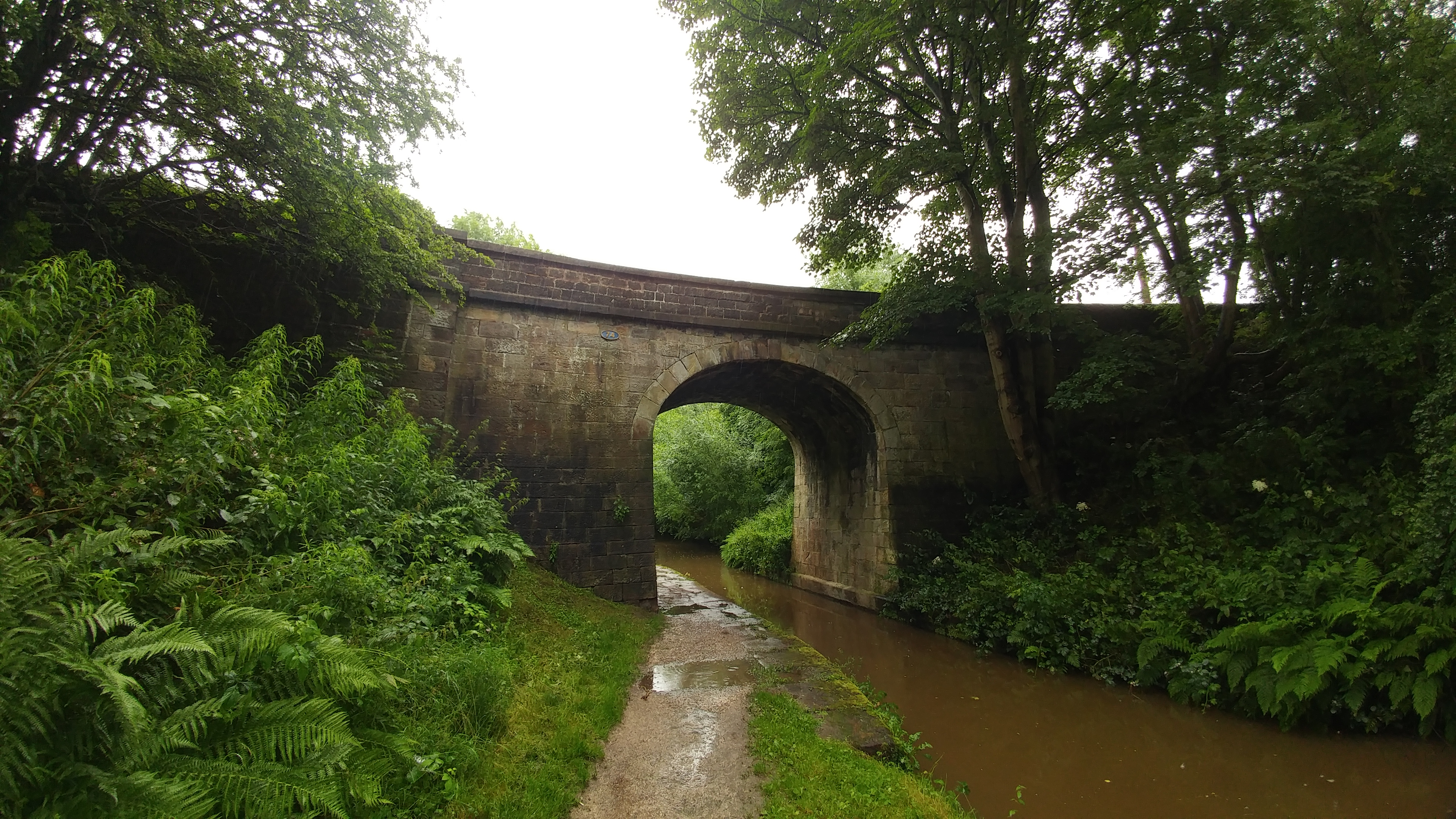 Bridge 74 just outside Congleton