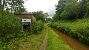 Hall Green Lock, kidsgrove to congleton