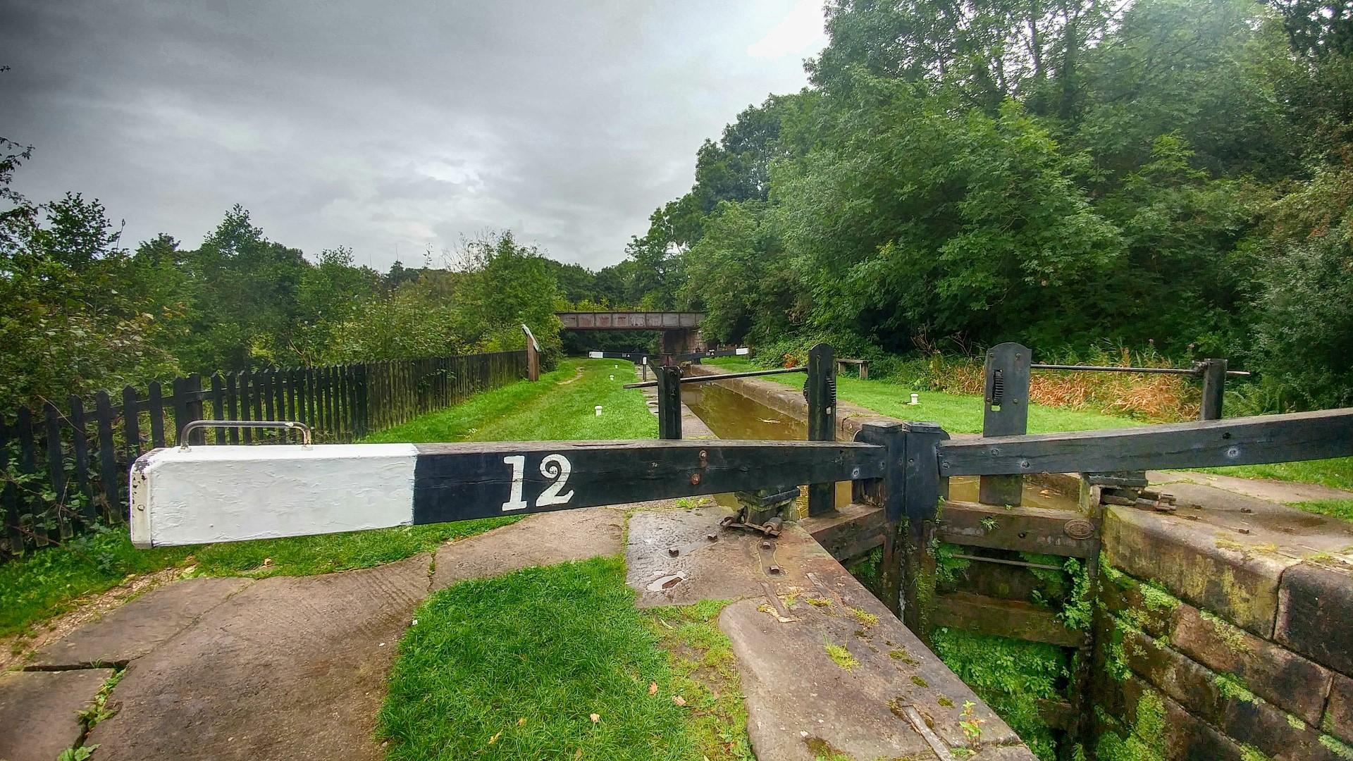 Lock 12 at Bosley Locks