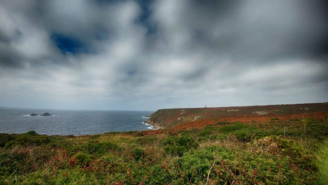 View towards Carn Gloose and Cape Cornwall