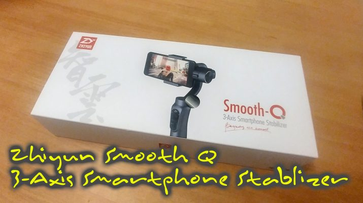 Zhiyun Smooth Q 3-axis gimbal for smart phones - mykp.co.uk