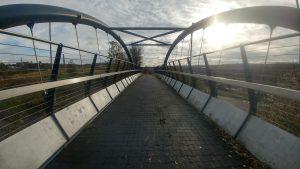 Bridge on the Biddulph Valley Way near Chell