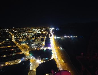 Blackpool at night from Blackpool Tower